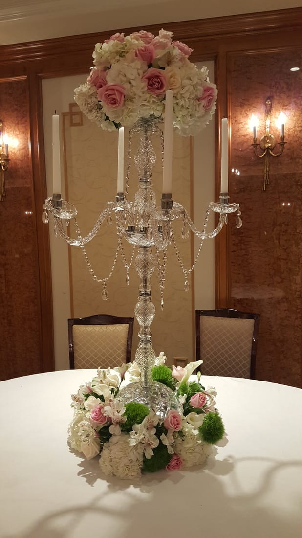 Candelabras Rental Centerpieces Rental New York Ny
