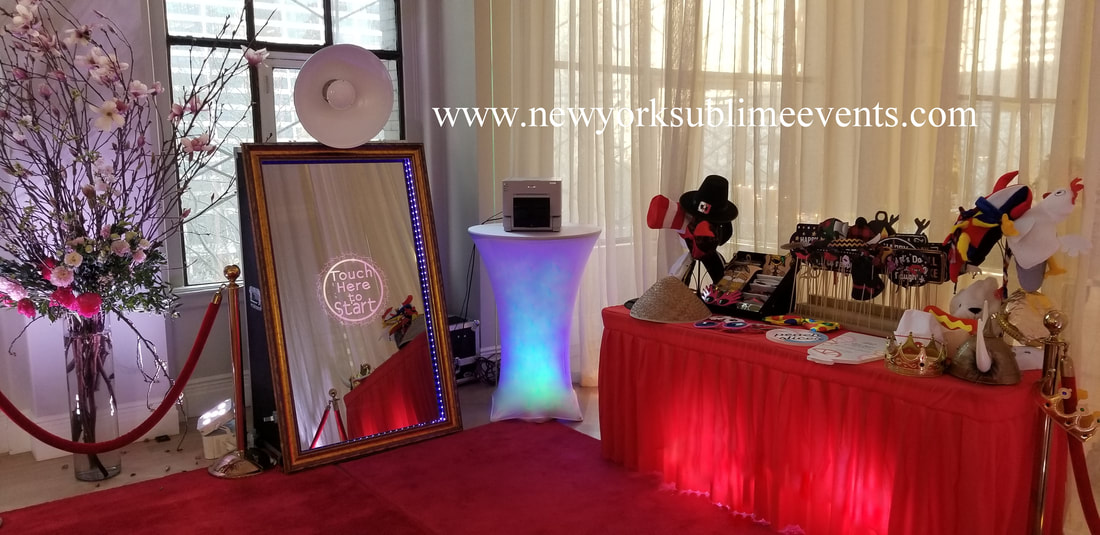 Photo Booth Rentals New York Mirror Booth Rentals New