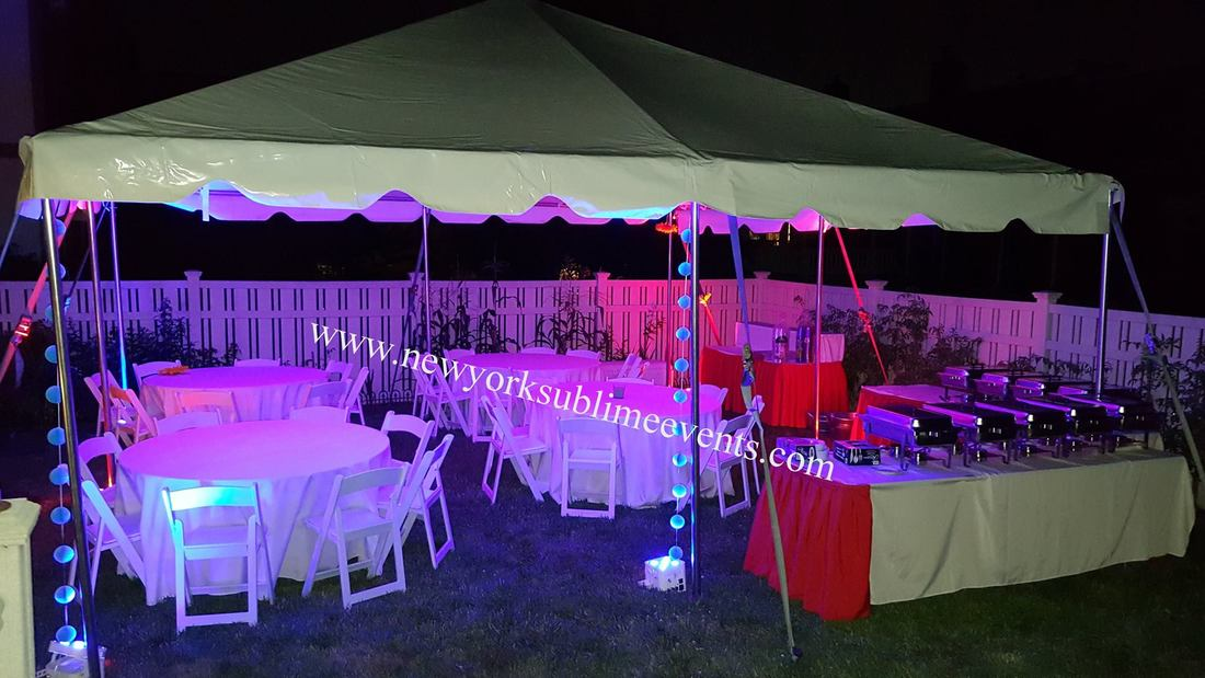 Party Tent Rentals New York, NYC, NY - New York Sublime Events
