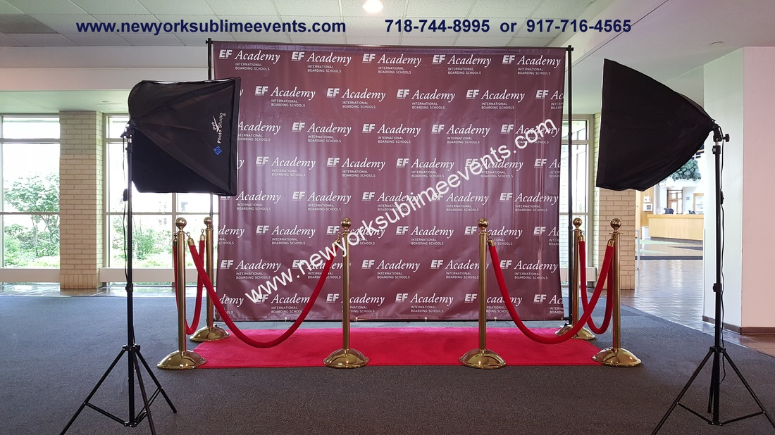 Step And Repeat Banner Backdrop Rentals Red Carpet Nyc