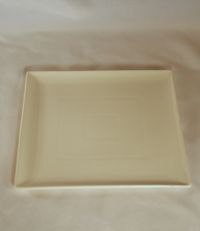 Square Plate & Dinnerware plates rental - New York Sublime Events