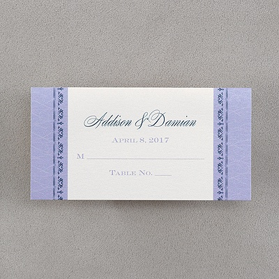 place card dimensions